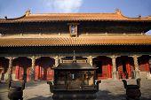 Confucius Temple Main Building Qufu China