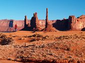 The Monument Valley In Arizona poster