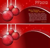 Vector Christmas Background With Place For Text