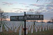 Arlington National  Cemetery -  Bradley-Macarthur Signs