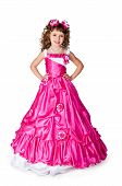 The Girl In A Beautiful Dress