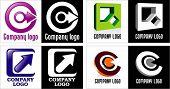 Quatro logotipos.
