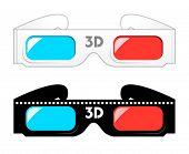 3d movie glasses