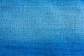 Blue Jean Cloth Texture Background