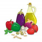 Vegetables - Italian Mediterranean