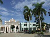 Arch In Jose Marti Park
