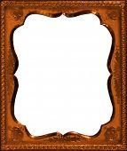 Scalloped Copper Frame