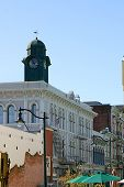 Downtown Petaluma California
