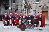 Dragoon Guards in Edinburgh