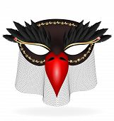 picture of mummer  - on a white background are a black - JPG
