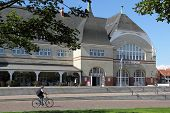 The Old Kurhaus In Westerland On The Island Of Sylt