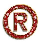Christmas Registered Symbol