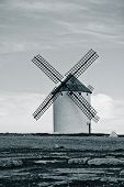 Old Spanish Windmill. Toned Image