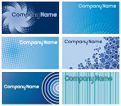 Blue Business Card Designs