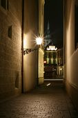 Old streets of Bratislava