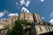 Mont Saint-Michel From Below