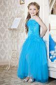 Girl in fine dress