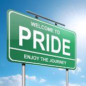 Pride Concept.