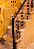 Old stairway in Jaisalmer, India
