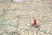 pin on the map Cincinnaty