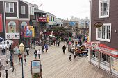 The famous pier 39 in San Francisco