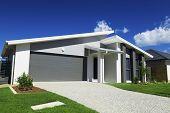 Casa de subúrbio australiana