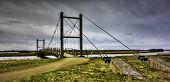 King Hans Bridge Near Skjern, Denmark