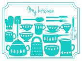 Kitchen Utensils Label