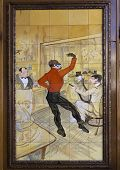 Painting By Toulouse Lautrec.