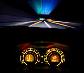 Speeding Car  Dashboard