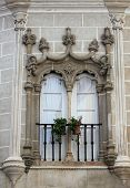 Decorative Window In Evora, Portugal