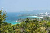 Kata Beach Viewpoint at Phuket island, Thailand