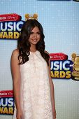 LOS ANGELES - APR 27:  Maia Mitchell arrives at the Radio Disney Music Awards 2013 at the Nokia Thea