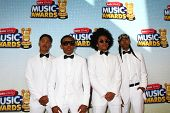 LOS ANGELES - APR 27:  Mindless Behavior arrives at the Radio Disney Music Awards 2013 at the Nokia Theater on April 27, 2013 in Los Angeles, CA