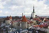 pic of olaf  - historic Old Town of Tallinn capital of Estonia - JPG