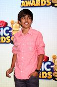 LOS ANGELES - APR 27:  Karan Brar arrives at the Radio Disney Music Awards 2013 at the Nokia Theater