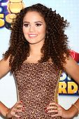 LOS ANGELES - APR 27:  Madison Pettis arrives at the Radio Disney Music Awards 2013 at the Nokia The