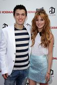 LOS ANGELES - APR 22:  Remy Thorne, Bella Thorne arrives at
