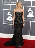 LOS ANGELES - FEB 10:  Carrie Underwood arrives to the Grammy Awards 2013  on February 10, 2013 in L