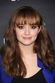 LOS ANGELES - MAR 12:  Olivia Cooke arrives to the A&E Network Premiere of