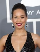 LOS ANGELES - FEB 10:  Alicia Keys arrives to the Grammy Awards 2013  on February 10, 2013 in Los An