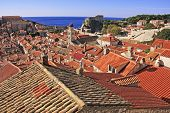 Rooftops Of Old Town, Dubrovnik, Croatia