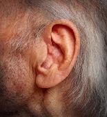 Envelhecimento de perda auditiva
