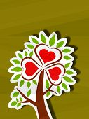 Creative Love Tree.