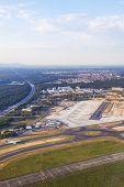 Aerial Of Airport Rhein-main