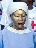 Painted Haitian Nurse