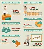 Business-Infografiken-Elemente