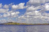 Clouds Over A Wilderness Lake