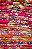 Colorful Bed Sheets Bedding Objects In Asia Market