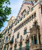 BARCELONA, SPAIN - JUNE 02: Casa Amatller in June 02, 2013 in Barcelona, Spain. Casa Amatller in 190